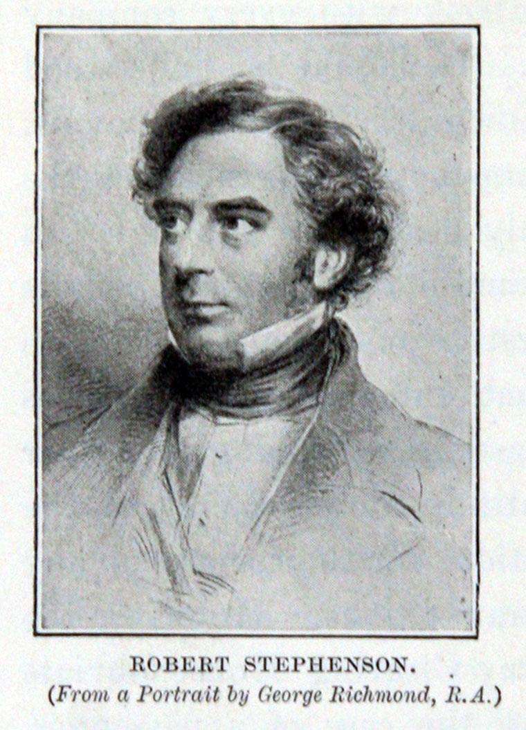 Robert Stephenson Graces Guide