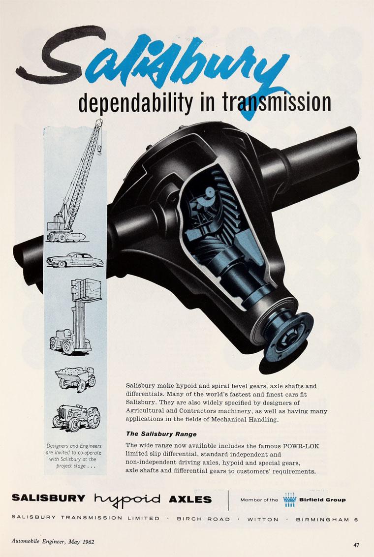 Hypoid rear axle transmission