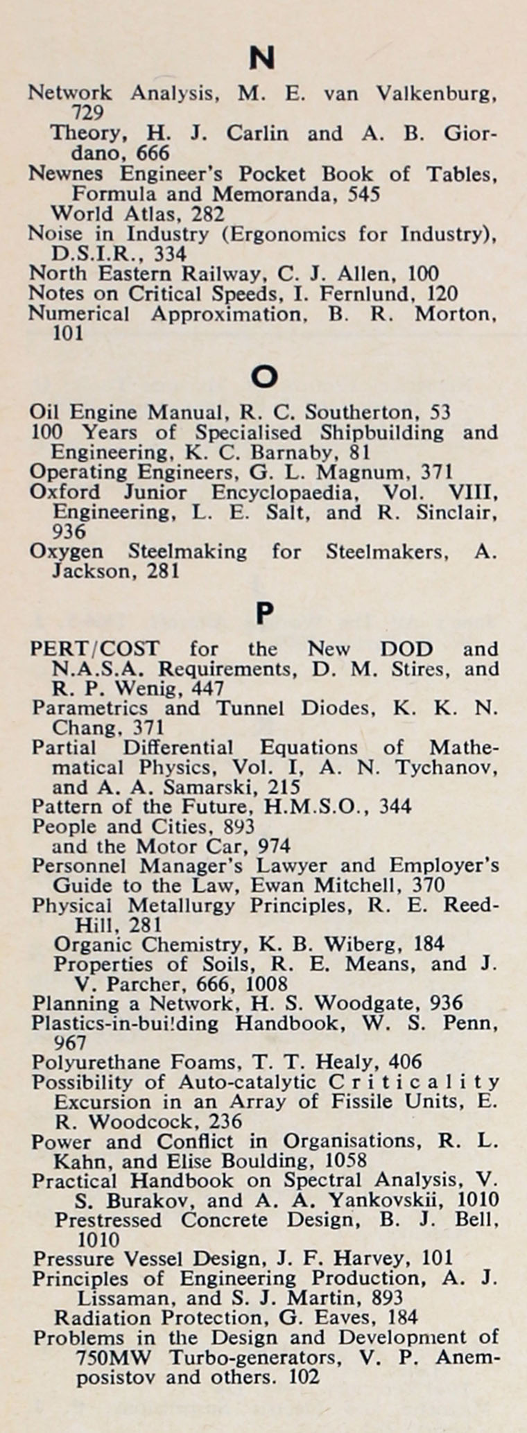 The engineer 1964 jul dec index sections 2 and 3 the engineer 1964 jul dec index fandeluxe Images