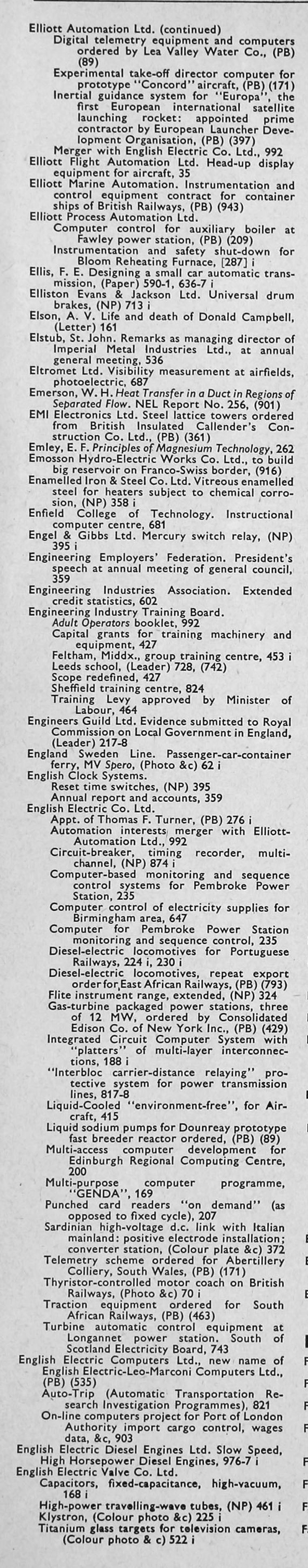 The Engineer 1967 Jan Jun Index James Clark Maxwell And Switched Capacitor Filters Eeweb Community