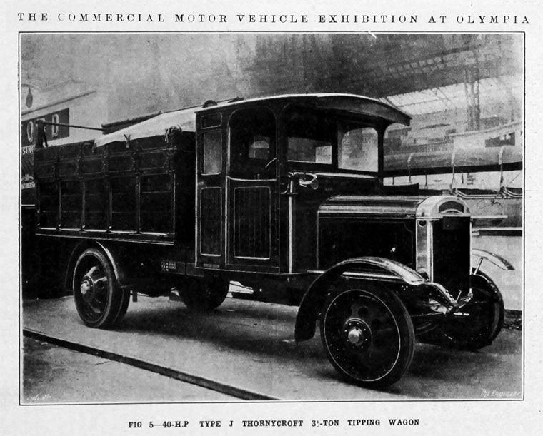Vintage Wheel Works >> Thornycroft: Commercial Vehicles