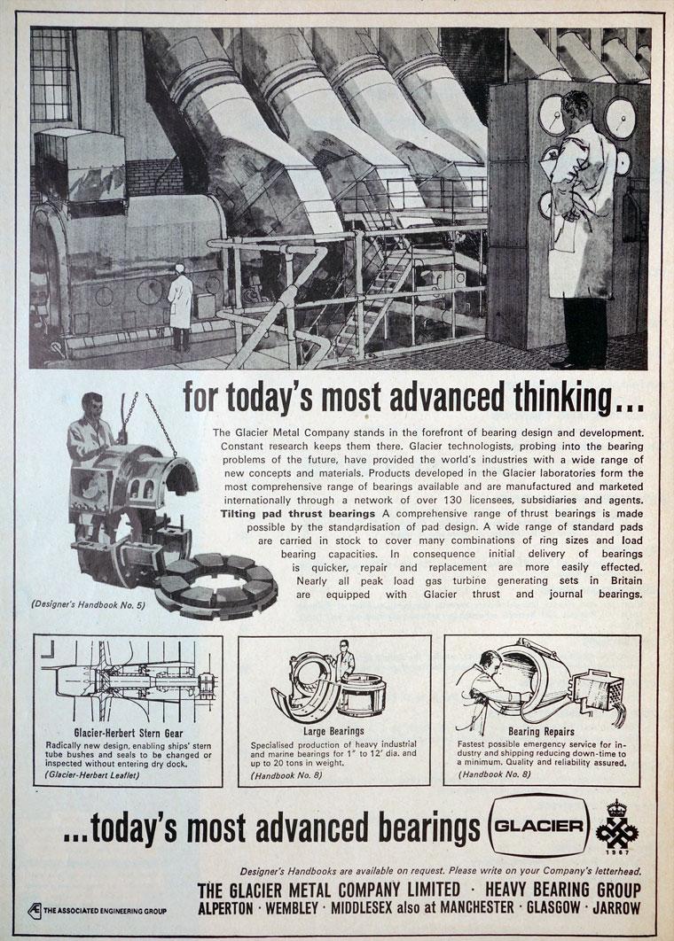 Types Of Motor >> Glacier Metal Co