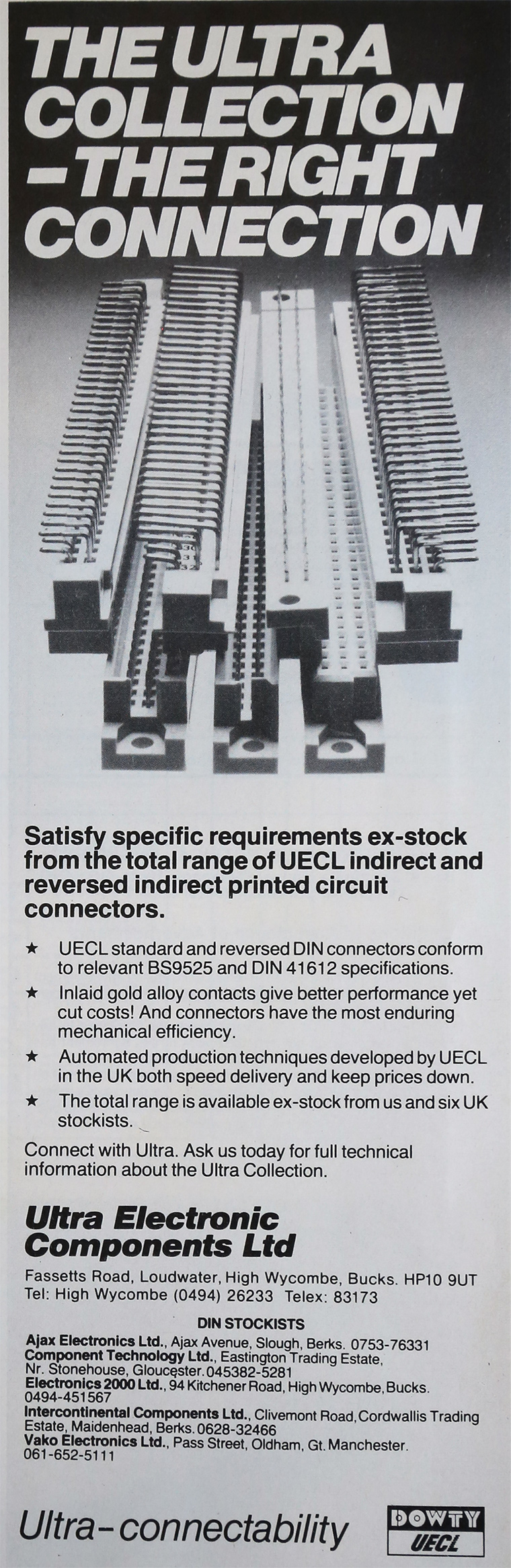 Ultra Electronic Components - Graces Guide