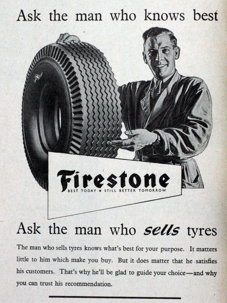 firestone tyre and rubber co The firestone tire and rubber company was an american tire company founded by harvey samuel firestone in 1900 to supply pneumatic tires.