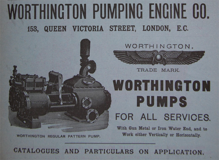 Worthington Pumping Engine Co - Graces Guide
