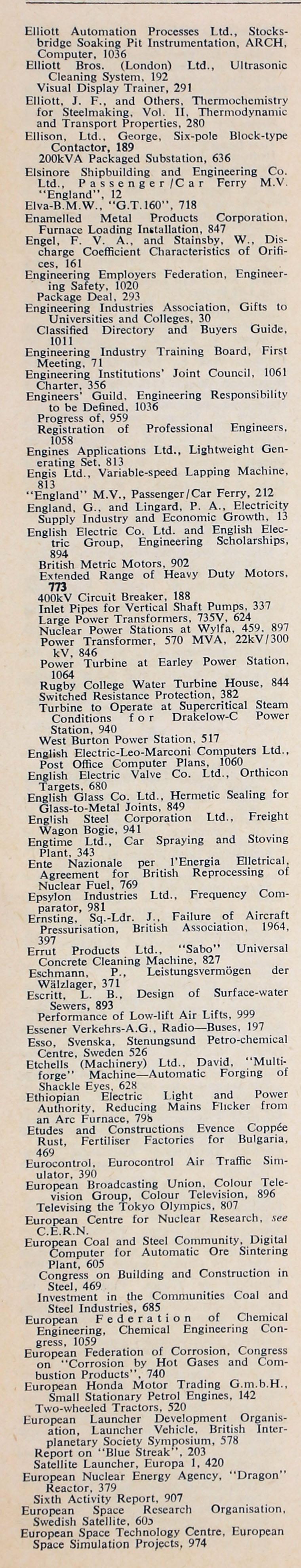 The Engineer 1964 Jul Dec Index 61 Willys Utility Wagon Wiring Diagram