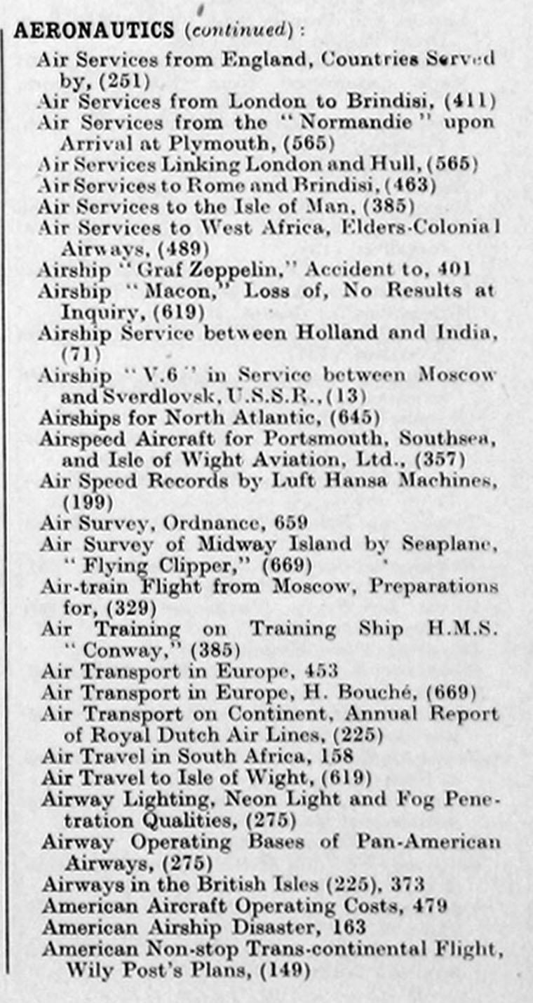 The Engineer 1935 Jan Jun Index Plymouth Wiring Diagram