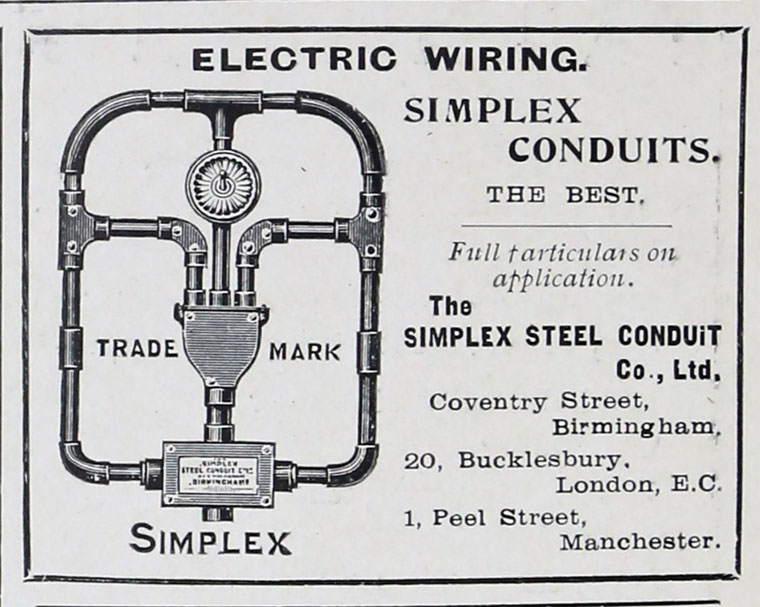 Terrific Simplex Steel Conduit Co Graces Guide Wiring 101 Ferenstreekradiomeanderfmnl