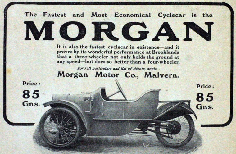 Morgan Motor Co Graces Guide