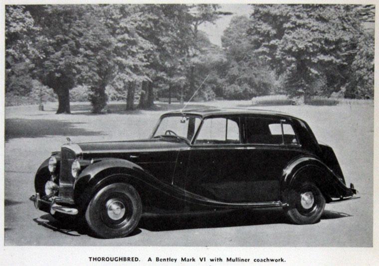 Bentley Mark VI - Bentley Mk Vi Wiring Diagram