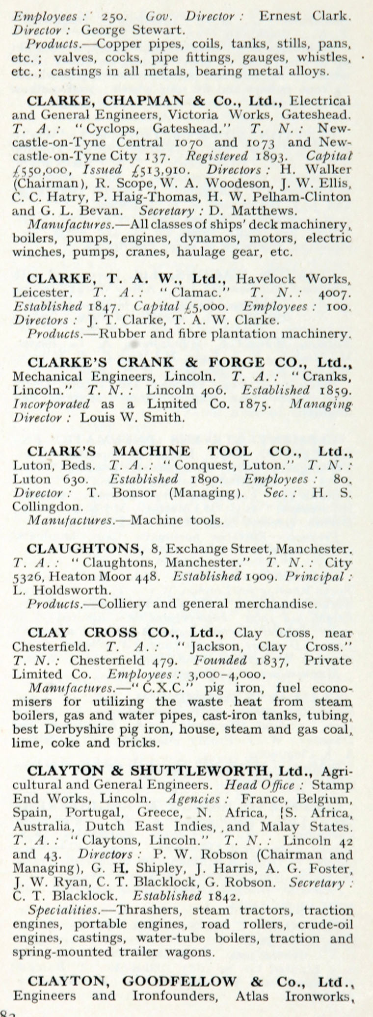 1922 who s who in engineering company c graces guide im1921bwwe p483b jpg