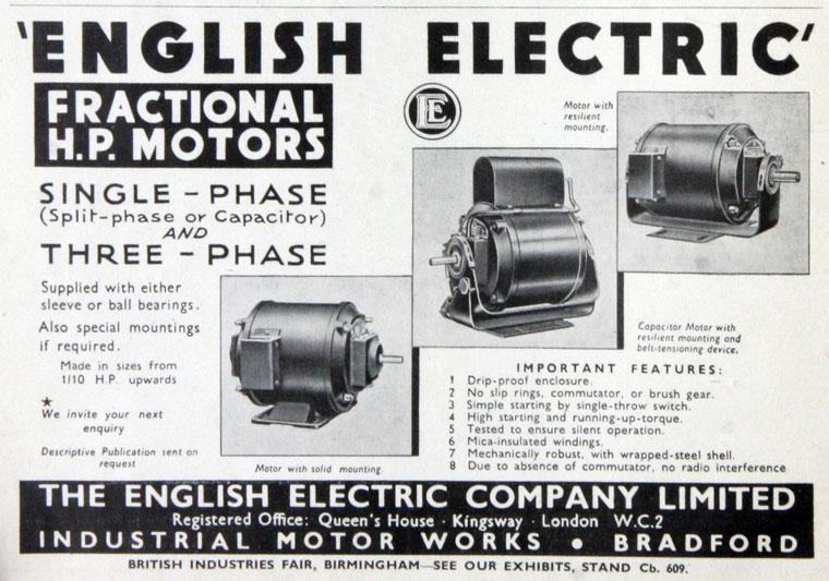 English Electric Co