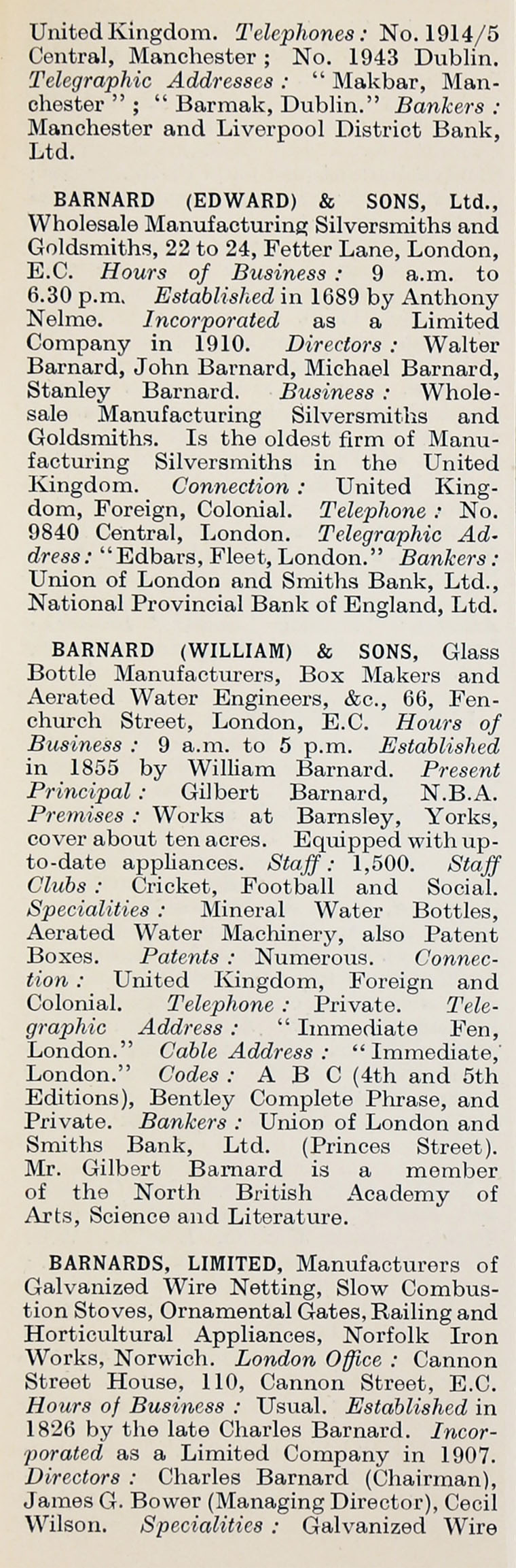 1914 Whos Who In Business Company B Wiring Gt Tools For Testers Circuit Tester Hopkins Im1914wwb P061a