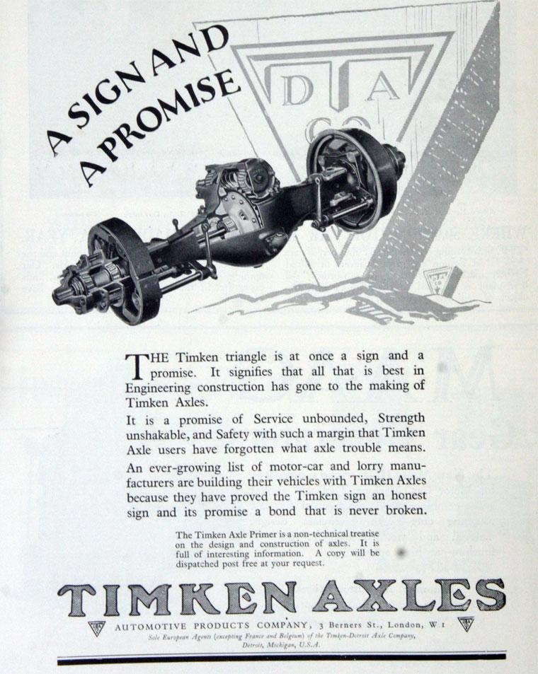Timken-Detroit Axle Co - Graces Guide