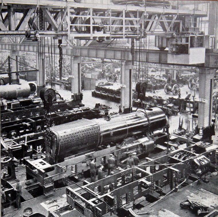 Engine Machine Shop >> Swindon Works in 1935 - Graces Guide