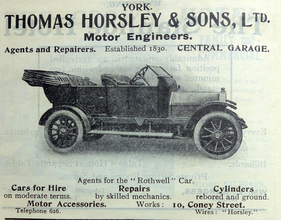 Thomas Horsley and Sons - Graces Guide