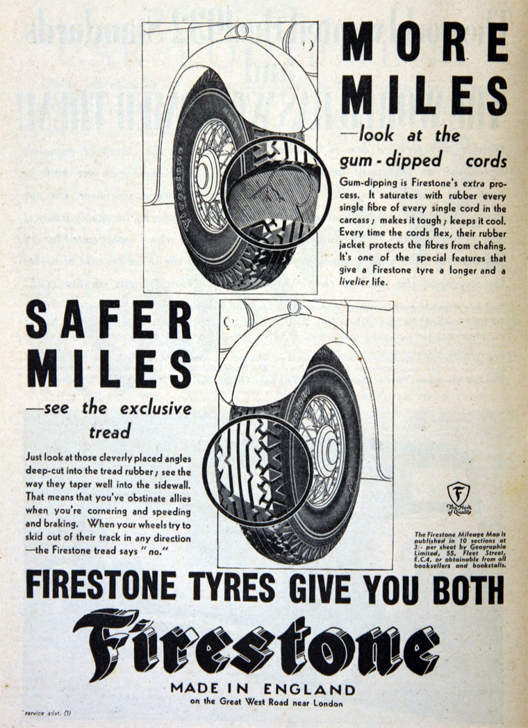 firestone tyre and rubber co The firestone tire and rubber company is an american tire company founded  by harvey firestone in 1900 to supply pneumatic tires for wagons, buggies, and.