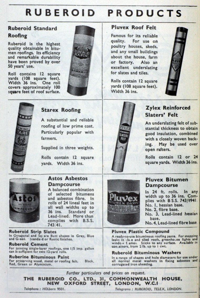 Ruberoid Co Graces Guide