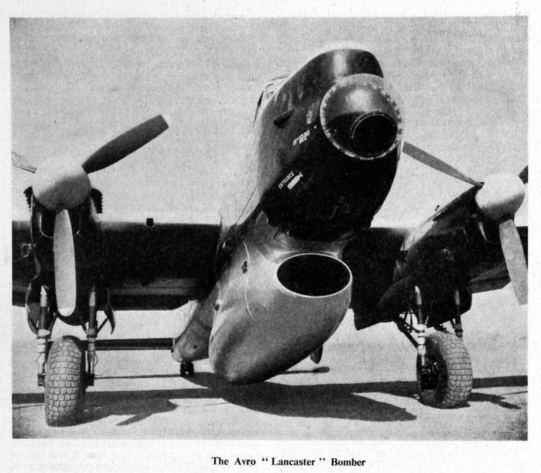 Avro Lancaster Graces Guide