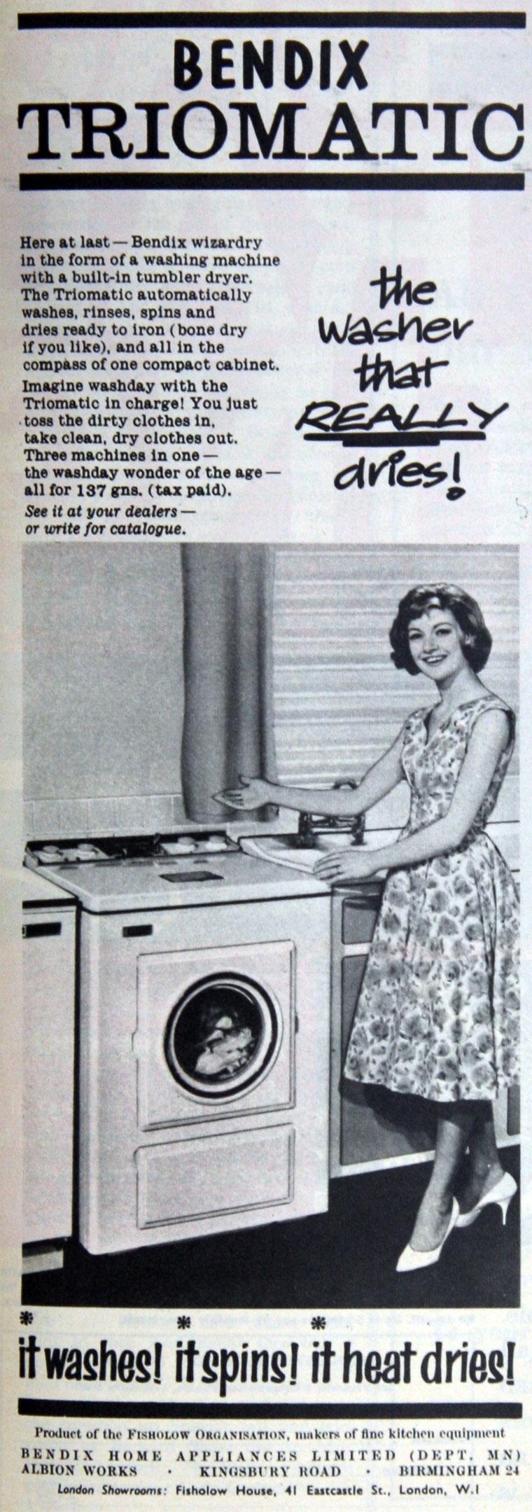 Bendix Home Appliances Graces Guide