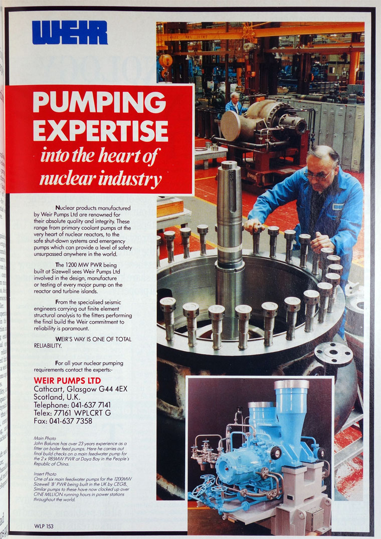 weir pumps