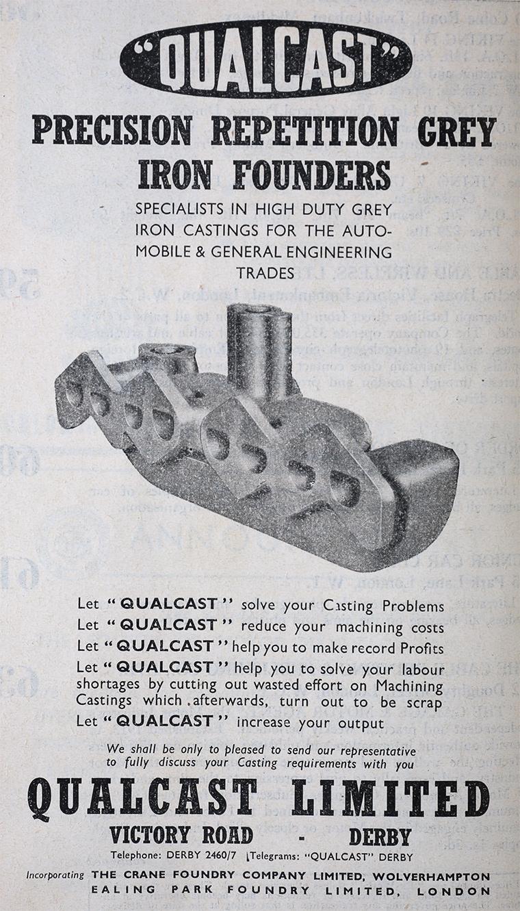 Qualcast Graces Guide