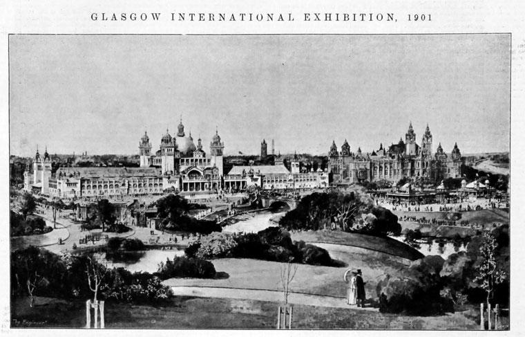 1901 Glasgow International Exhibition Graces Guide