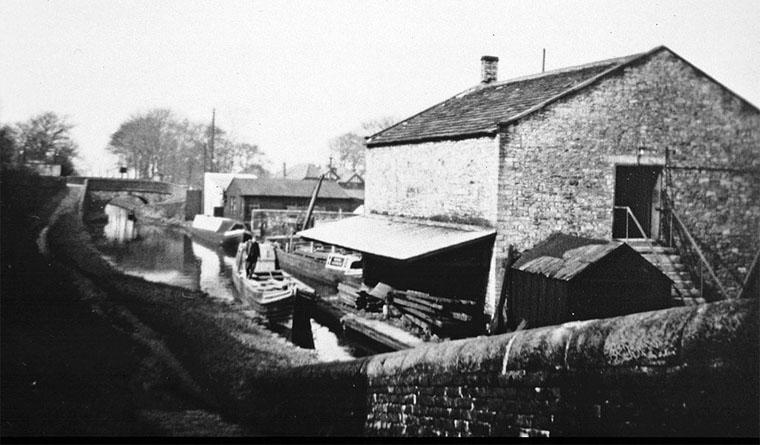 Marple Wharf 1957