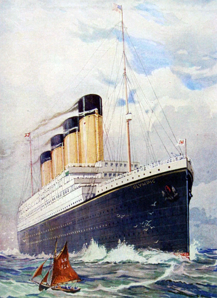 Olympic ship (Olympic): creation history, description, characteristics. White Star Line transatlantic liner 66