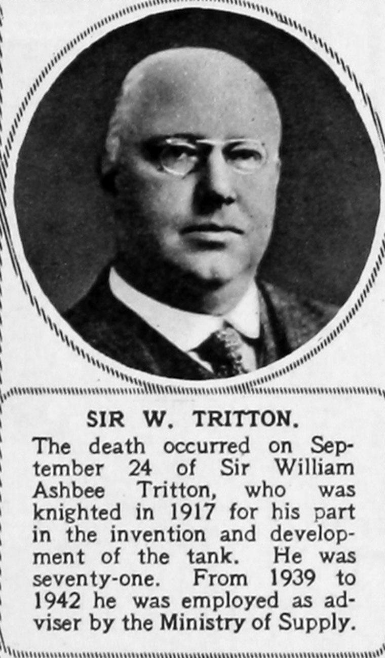 William Ashbee Tritton Graces Guide