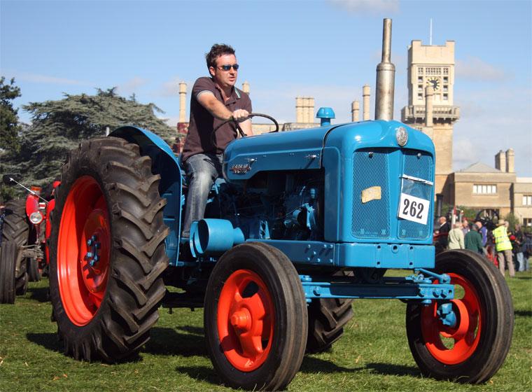 1957 Fordson Major Diesel Tractor : Fordson major