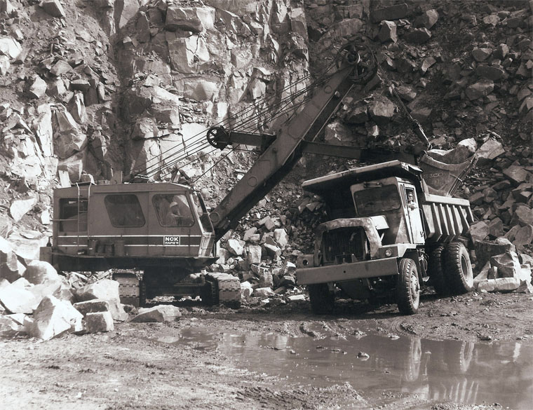 NCK vecchi escavatori meccanici  gru Im20150324RB-Ransomes4