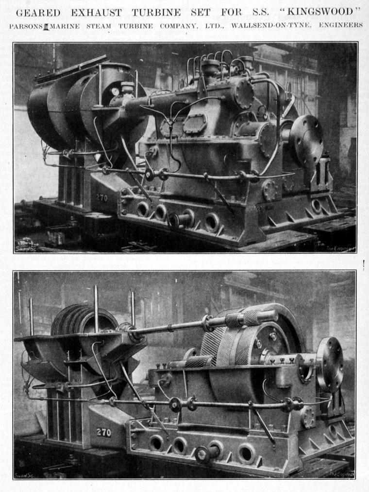 Im V P on Hp Steam Engine