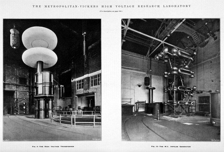 Metropolitan-Vickers High Voltage Research Laboratory