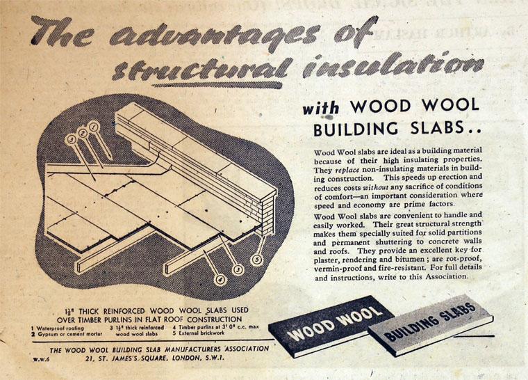 Wood Wool Building Slab Manufacturers Association Graces