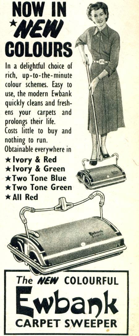Ewbank Carpet Sweepers Graces Guide