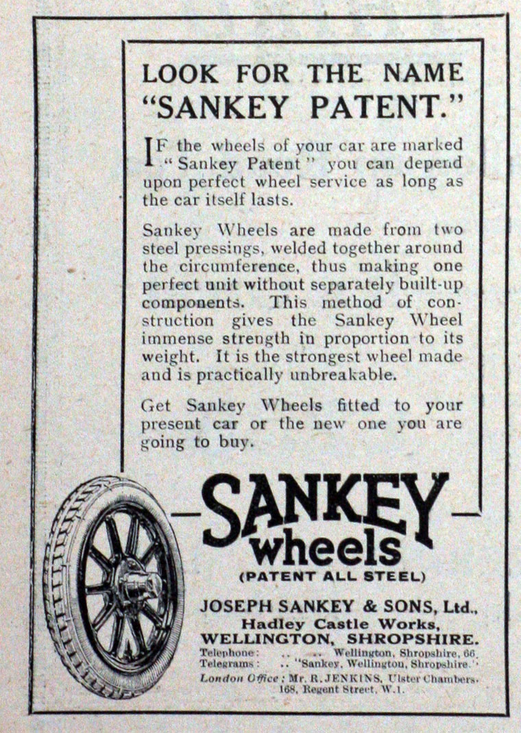 Joseph Sankey And Sons 3 4 Ton Trailer Wiring March 1924