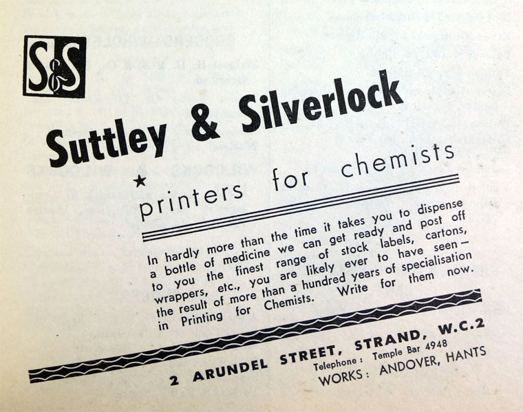 Suttley and Silverlock - Graces Guide