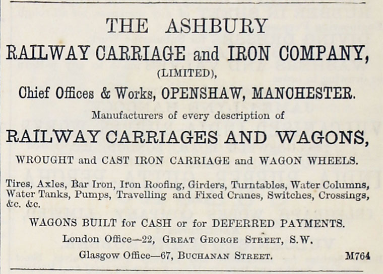 ashbury railway carriage iron ltd co vs richie The ultra vires rule in relation to english company can be found in the case of ashbury railway carriage and iron company v mining co ltd [1902] 26 and.