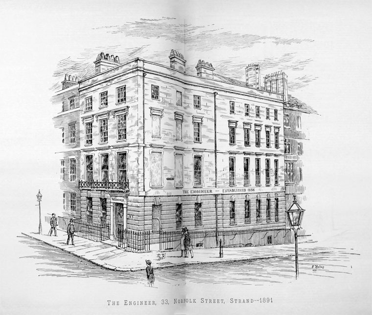 a42a8d4867c 1891. 33 Norfolk Street, Strand, WC.