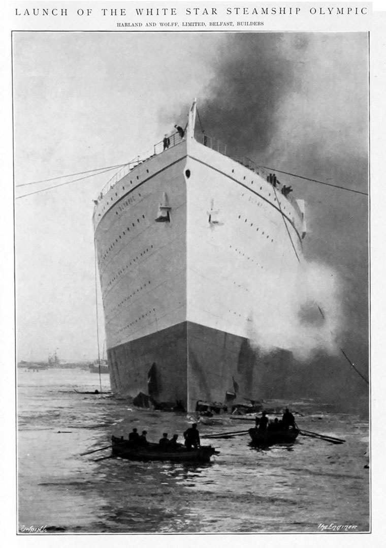 Rms Olympic Graces Guide