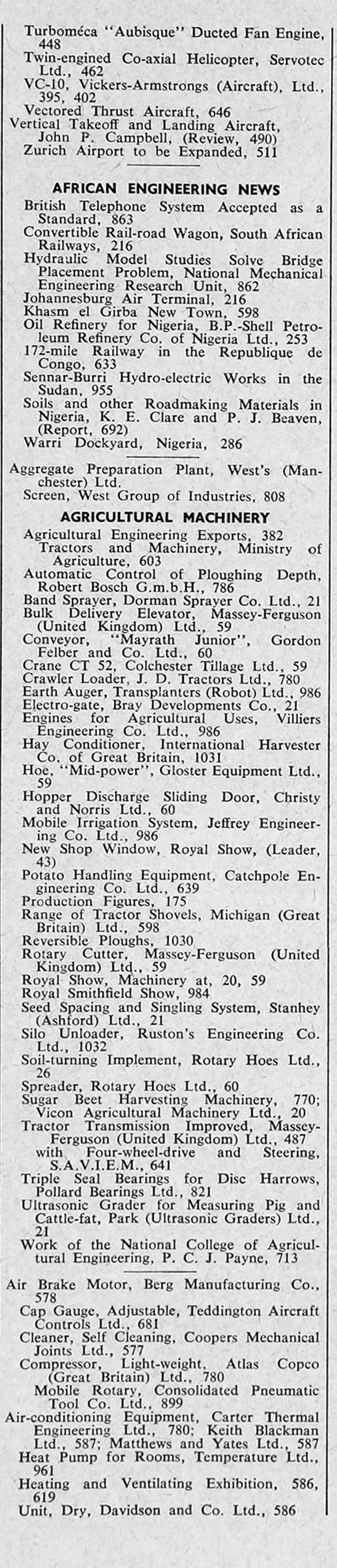 the engineer 1962 jul dec index sections 2 and 3 graces guide the engineer 1962 jul dec index