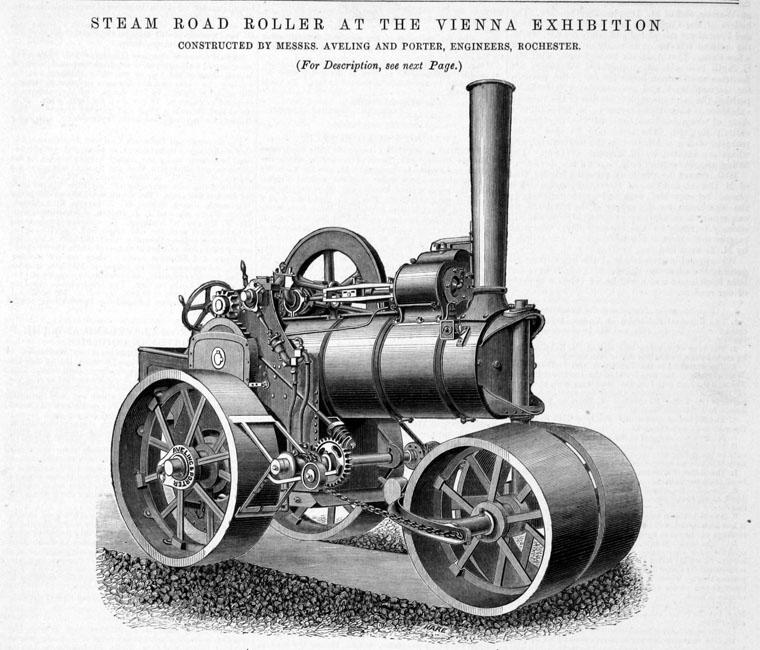 """File:Aveling & Porter Road Roller """"Betsy"""" (1912).jpg ...  Road Roller Aveling"""