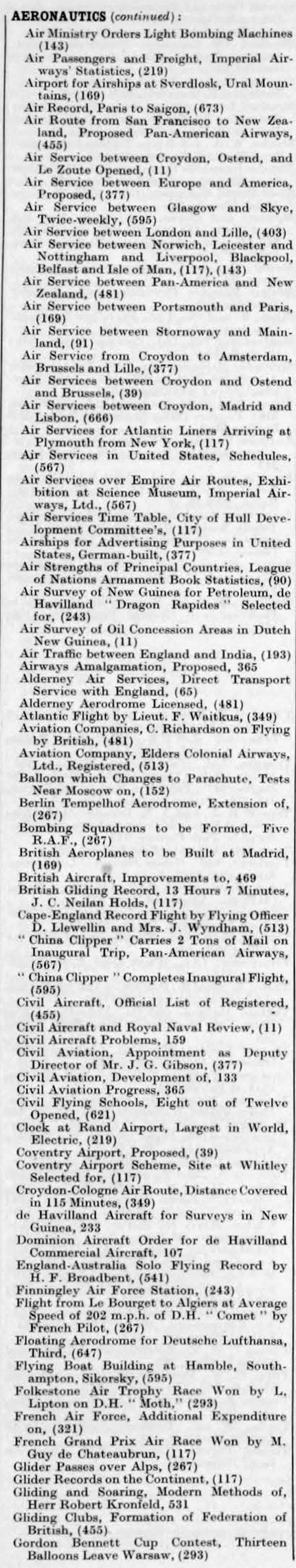 The Engineer 1935 Jul Dec Index