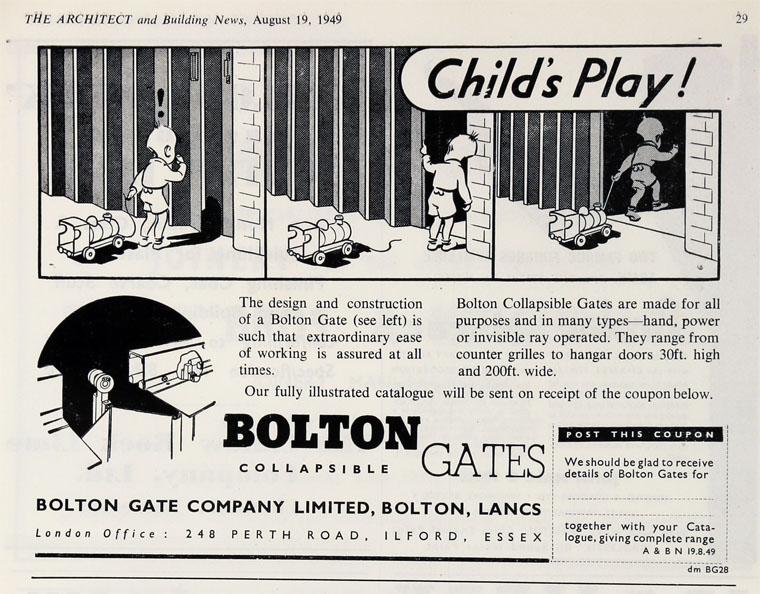 August 1949.  sc 1 st  Graces Guide & Bolton Gate Co
