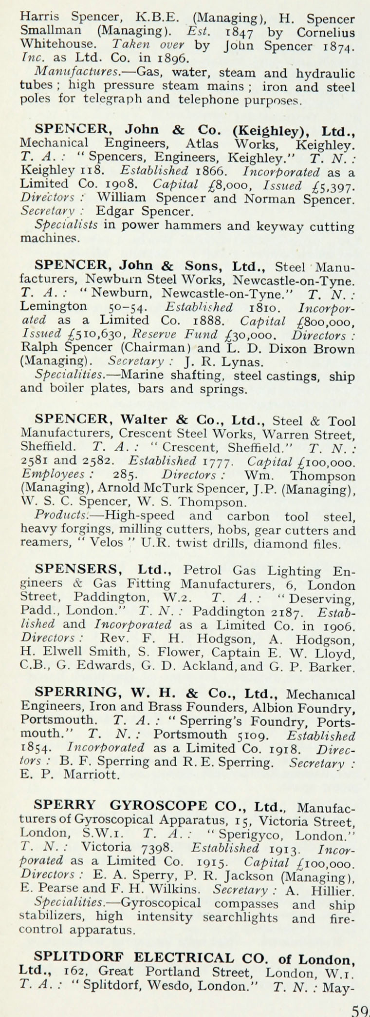 1922 who s who in engineering company s graces guide im1921bwwe p595a jpg