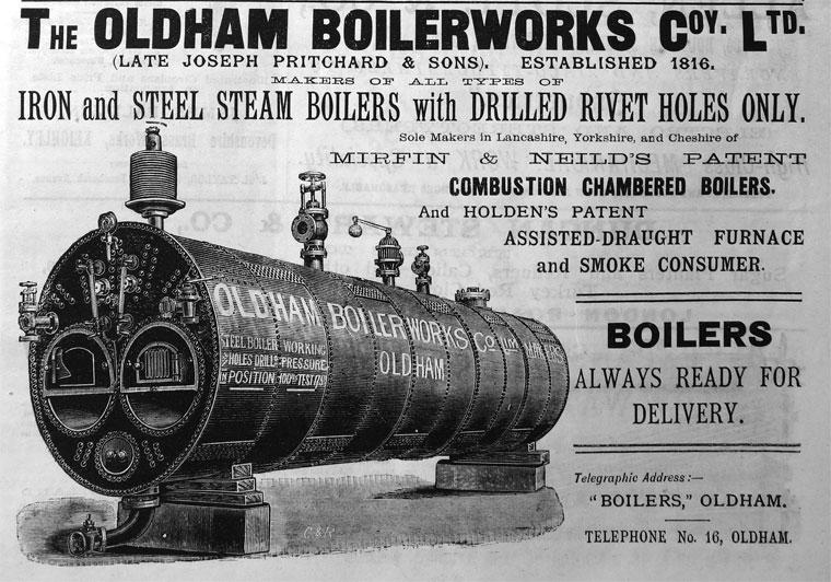 Oldham Boiler Works Co