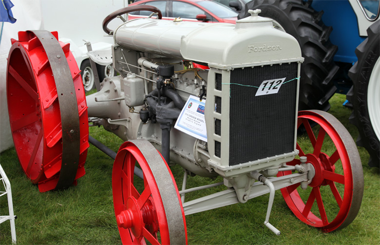 Im Ang For I on fordson tractor history