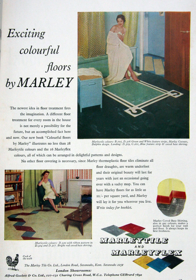 Marley tile co july 1954 dailygadgetfo Gallery