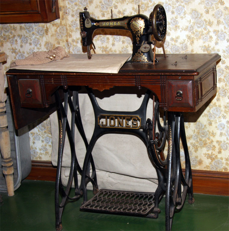 Jones Sewing Machine Co Cool Jones Sewing Machine